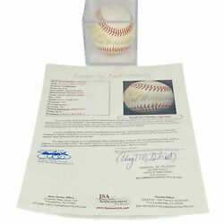 Ted Williams SIGNED Autograph Official AL Baseball w JSA Letter of Authenticity $399.99