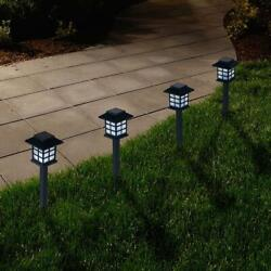Outdoor Lantern Solar Landscaping Lights Set of 6 by Pure Garden $30.27