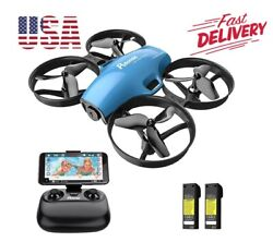 A20 Mini Drone Camera Real Time Remote Control Altitude Hold Quadcopter Kids Toy $64.28