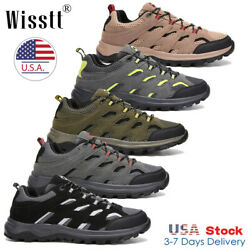 Mens Waterproof Trekking Trail Shoes Sneakers Outdoor Hiking Boots Camping Sizes $29.99