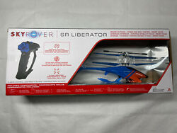 NIB SKY ROVER SR Liberator Blue Red Controller Helicopter Remote Control Toy $29.77