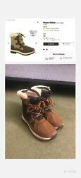 BEARPAW Women#x27;s Bethany Winter Boots Hickory US Size 8 $20.00