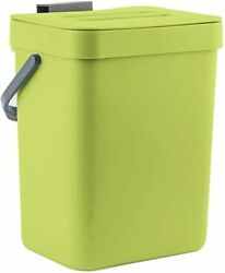 Food Waste Basket Bin for Kitchen Small Countertop Compost Bin with Lid $22.79