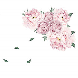 Wall Stickers for Bedroom Flower Wall Decals for Living Room Girls Bedroom for $9.97