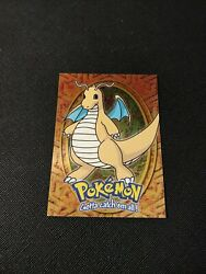 Pokemon Dragonite #149 E12 of 12 Topps Series Blue Logo HOLO LP $7.00