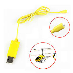 Newest RC Helicopter Syma S107 S105 USB Mini Charger Charging Cable Parts $7.00