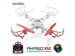 Akaso X5C Quadcopter with HD Camera 2.4 GHz 6 Axis Gyro RC Drone 360 Degree whit $40.00