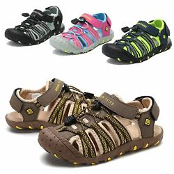 Kids Girls Boys Toddlers Athletic Sandals Closed toe Outdoor Sport Sandals $19.99