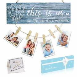 Home Decor for Wall Living Room with Clips and Twine for Photo Hanging Decor $26.00