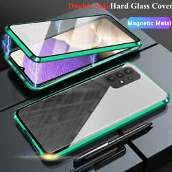 Magnetic Metal Case For Samsung Galaxy A72 A52 A42 A32 A12 5G 360° Glass Cover $10.99