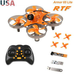 MakerFire 65mm Armor 65 Lite RTF with Radio Tiny Whoop FPV RC Quadcopter Drone $60.99