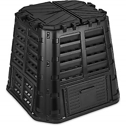 Garden Composter Bin Made from Recycled Plastic 110 Gallon 420 Liter Large Bin $106.99