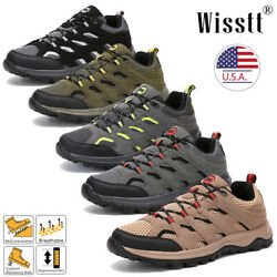 Men#x27;s Outdoor Hiking Boots Trekking Trail Shoes Lightweight Sports Waterproof US $29.99