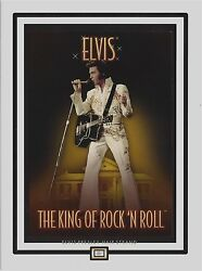 ELVIS HAIR STRAND personal owned concert photo glossy paper with postcard $14.95