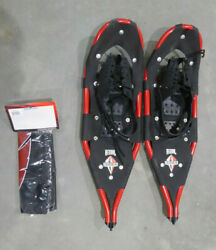 REDFEATHER REDTAIL SNOWSHOES RED W CARRY BAG amp; GUARDS FOR TALONS USA USED $75.00