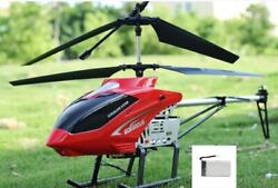 3.5ch 80cm Super Large Helicopter Chopper With Remote Control Aircraft Anti fall $64.99