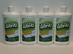 Lot Of 4 The Works Tub amp; Shower Cleaner 16 FL OZ Each FAST FREE SHIPPING $19.99