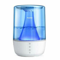 Cool Mist Humidifier for Bedroom for Large Room Office Easy Clean Auto Shut Off $97.66