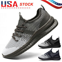 Men#x27;s Casual Running Sneakers Athletic Jogging Tennis Shoes Sports Walking Gym $22.99