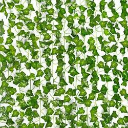20 Pack 138FT Fake Vines Ivy for Home Decor Kitchen Wall Bedroom Garden $14.98