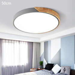 Modern Acrylic Chandelier LED Ceiling Lamp Round Ceiling Light Fixture 50CM New $42.75