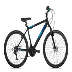 Kent 26 In. Northpoint Mens Mountain Bike Front Suspension 21 Speed Black Blue $182.37