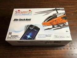 NEW SILVERLIT BLU TECH HELI HELICOPTER RC Remote Control by IOS Device Iphone $24.99