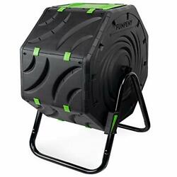 Compost Bin for Outdoors Ouside19 Gallon Small Tumbling Composting Bin for... $97.68