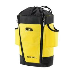 Petzl Toolbag Tool Pouch Black Yellow L $39.95