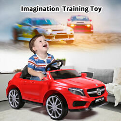 Kids Ride On Car Mercedes Benz Licensed Electric Toy Control Carry Handle Music $155.99
