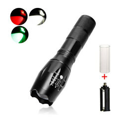 Super Bright LED Zoom Flashlight 3 in 1 Coyote Hog Hunting Lamp Torch Light US $14.99