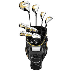 NEW Spalding Molitor Men#x27;s Complete Golf Set w Driver Wood Irons $299.99