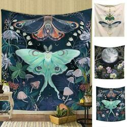 Fairytale Giant Insect Moon Tapestry Wall Hanging Living Bedroom Dorm Room FAST $7.62
