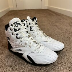 Otomix M4000 Power Trainer Weight Lifting Wrestling Shoes M8.5 W10 Leather $59.99