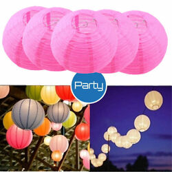5PACK Chinese Paper Lantern Decoration Wedding Party Event Festival 8quot; $6.50