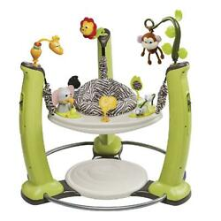 Evenflo ExerSaucer Jump amp; Learn Stationary Jumper Jungle Quest $182.29