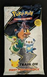 Pokemon First Partner Pack Unova New Sealed 2 Booster Packs In Hand Free Ship $15.49