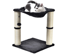 Basics Cat Condo Tree Tower with Hammock Bed and Scratching Post $33.26