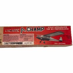 Dmeco Live Wire 1 2A R C Scale Jr. Champ 49 Engines Model Airplane Plane Vintage $59.00
