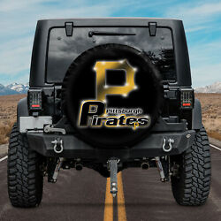 Jeep Pittsburgh Pirates For Baseball MLB Fans NVH02 Spare Tire Cover $59.95