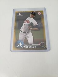 2016 Bowman Paper Gold Refractor 19 50Ian Anderson new $30.00