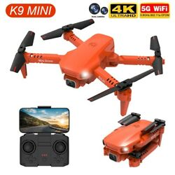 4K HD Dual Camera Air Pressure Height Keeping Foldable Professional Quadcopter $39.98