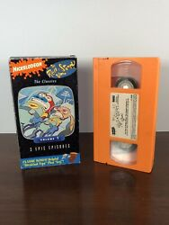 Nickelodeon The REN AND STIMPY Show The Classics Volume 1 VHS 1993 3 Episodes $4.99