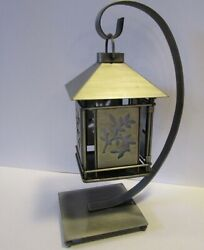 Hanging Metal Lantern Including Battery Powered Candle and Six Tea Lights $29.95
