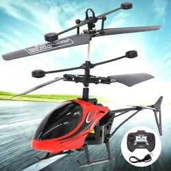 Kids Children RC Helicopter Remote Control Drone Induction Flying Plane Toy $10.89