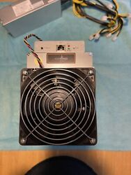 bitmain antminer l3 504 mh s with power supply Free Shipping. $1375.00