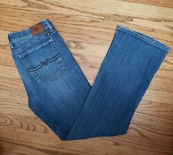 Lucky Brand Womens 12 31 Jeans Sweet#x27; N Low Boot Cut Stretch Jeans $19.99