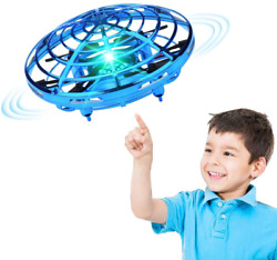 Hand Operated Drone for Kids s Hands Free Mini Drones for Kids Easy Blue $28.99