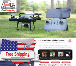 4K WIFI RC Quadcopter With Camera Ultra HD Aerial FPV Helicopter Mini Drone New $48.99