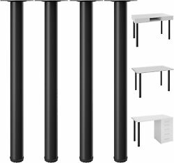 28quot; Heavy Duty Table Legs Adjustable Kitchen Coffee Table Metal Furniture Legs $29.99